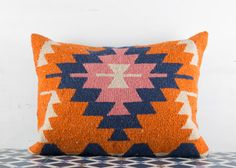 Free Express Shipping Turkish Kilim Pillow Cover by BohoTrunk