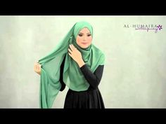 ▶ BETSY shawl styling tutorial by Al-Humaira Contemporary - YouTube
