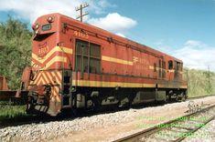 Locomotiva G-12 n° 4103-6N da RFFSA - Rede Ferroviária Federal