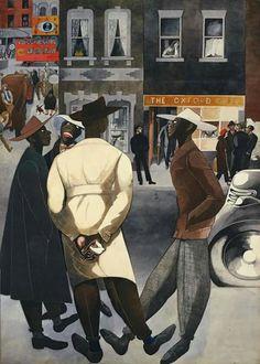 ARTIST Edward Burra,  Zoot Suits, 1948