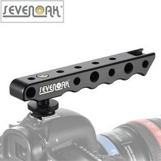 Sevenoak SK-H02 Handheld Video Stabilizer Handle Camera Hot-shoe Holder Bracket Support for Nikon Canon Sony Camera Monitor
