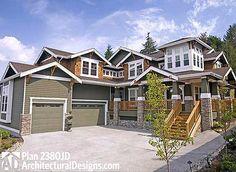 Plan 73327HS: Distinctive Craftsman Dream Home Plan   2nd floor ...