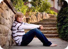 boy senior photo