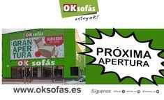 ¡Seguimos creciendo!, mañana abre sus puertas la #nuevatienda #OKSofásVilanova ¡Os esperamos! #oksofás #oksofásvilanova #nuevatienda