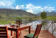 Royal Coachman offers luxury self-catering accommodation next to a hectare dam which is well-stocked with rainbow and brown trout. Catch and Built In Braai, Bed Next, Fly Fishing Tackle, Outside Furniture, Free State, Brown Trout, Loft Room, Heated Towel Rail