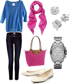 """Casual & cute"" by emily-bliesner on Polyvore"