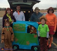 Scooby Doo Gang - 2016 Halloween Costume Contest
