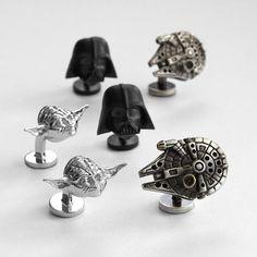 Star Wars™ cuff links from RedEnvelope.com