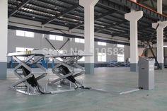 Online Shop 3200kgs/2030mm hydraulic in floor scissor lift car hoist in ground installed Aliexpress Mobile