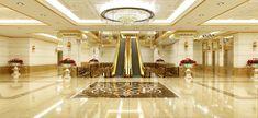 Đại sảnh tòa tháp Dleroisoleil Quảng An lộng lẫy như khách sạn 5*