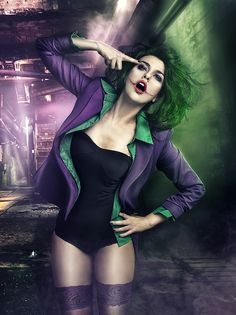 Live Fast by Rebeca Saray - Fashion Photography - Batman Villains - Joker Concept #villains villain photography batman concept photography #batman #joker