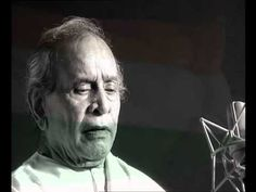 Pandit Bhimsen Joshi sings the Indian National Anthem in his unique style