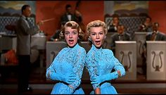 White Christmas - Sisters--My sister and I practiced this act at home.  Fond memories!  yes, sir it is!