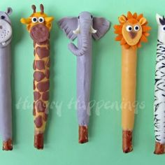 jungle-animal-pretzels-jungle-animal-party-animal-party-food-animal-themed-party-favors-
