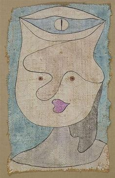 BEWATCHES MADCHEN (WATCHED GIRL) By Paul Klee Creation Date: 1932