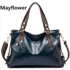 New 2014 famous brand 100% real genuine leather bag women handbags cow  shoulder satchel women messenger bags 27d9a9a981836