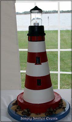 Lighthouse Groom's Cake