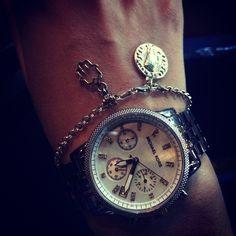 Michael Kors silver watch bracelet