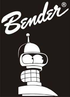Bender, de Futurama, publicado por https://www.facebook.com/alekos.antich