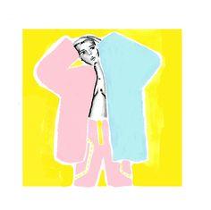#ilustracion #drawing #x(z)y #elenamatas #yellow #dibujo