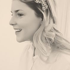 Grace Helbig. So pretty. And hilarious, because she's just that cool.