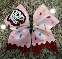 Cute cheer bow. Bow from Bows by April