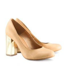 h pumps...dream heel and perfect color