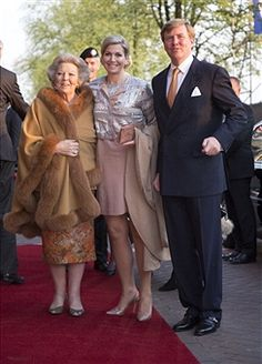King Willem-Alexander and Queen Maxima Of The Netherlands Attend Freedom Concert