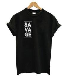 Savage T-shirt – Outfits – – Camisetas! Cool Shirt Designs, Shirt Print Design, Tee Design, Simple Shirt Design, T Shirt Designs Inspiration, Design Ideas, T Shirt Print, Design Kaos, Simple Shirts