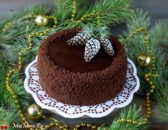 Шоколадный торт с курагой