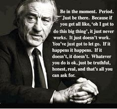 Robert De Niro on acting and finding truth. Acting Lessons, Acting Tips, Acting Skills, Acting Career, Quotes To Live By, Life Quotes, Work Quotes, Acting Quotes, Theatre Quotes
