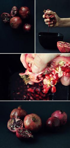 Pomegranates are in season now and are a festive accent for all of your holiday entertaining.