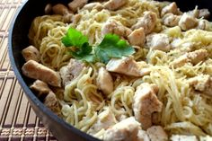 Parmesan Chicken and Pasta