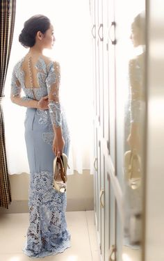 kebaya dress by dinavahada