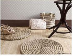 les 25 meilleures id es de la cat gorie tapis de corde sur pinterest artisanat de corde tapis. Black Bedroom Furniture Sets. Home Design Ideas