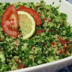 tabouleh-this  is my favourite arabic food                                                                                                                                                                                 More