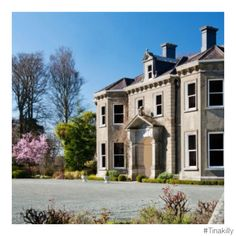 #Tinakilly  #CountryHouseHotel Country House Hotels, Irish Sea, Acre, 19th Century, Ireland, Victorian, Mansions, Luxury, House Styles