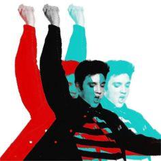 Elvis Presley by Andy Warhol.  love Elvis