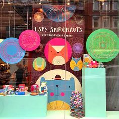 paperandcloth Window display