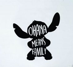 Ohana Means Family Stitch Vinyl Decal Sticker // Car Decal // Tumbler Sticker // Lilo and Stitch // Disney decals // Customized Decals by TaylorMadeTreasureUS on Etsy Tumbler Stickers, Yeti Stickers, Car Stickers, Laptop Stickers, Sticker Ideas, Image Princesse Disney, Family Car Decals, Family Cars, Cute Car Decals