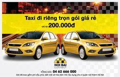 Taxi noi bai ha noi hân hạnh mang đến cho quý khách dịch vụ taxi đi riêng trọn gói giá rẻ