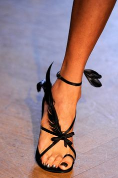 Zac Posen - These are friggin' awesome!  Love the toe hug.  Makes me feel like Tango Time!