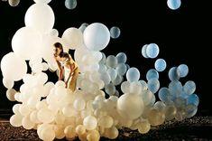Azim Haidaryan shot the magical balloon fashiontography