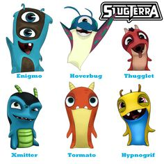 What is the next Slug you would like to see as a coloring page - Slugterra
