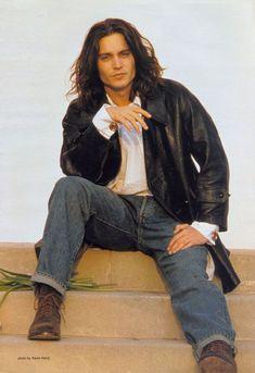 Johnny Depp - Photoshoot 1993