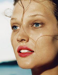 Toni Garrn by Nico for Madame Figaro.