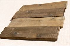 How To: Aged Wood. Good tips for projects I want to make using palettes and without having to buy stain.
