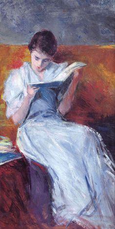 Italian Impressionist Painter Pietro Scoppetta (1863-1920)