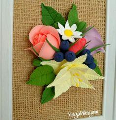 Decoclay,decoclaycraft,artclay flowers handmade,