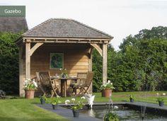 Gazebo style summer house